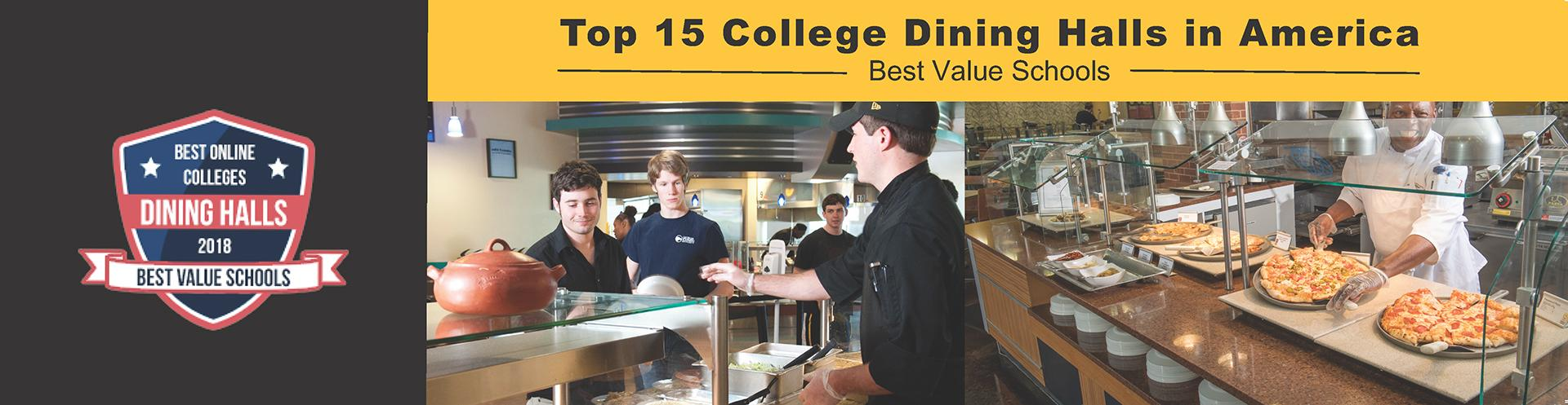 Top 15 College Dining Halls