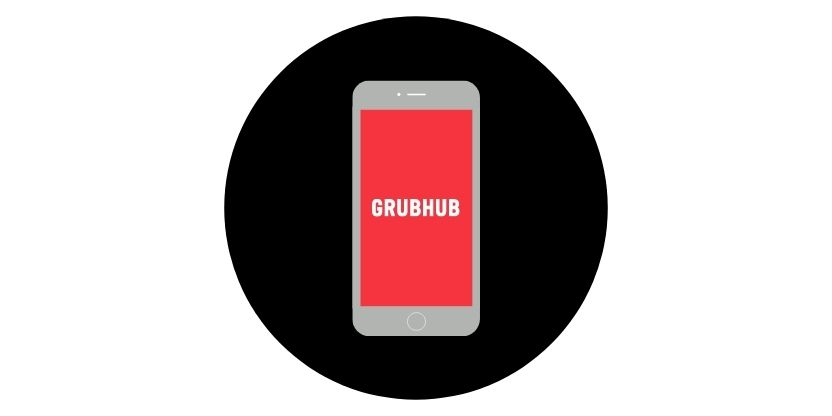 Grubhub button